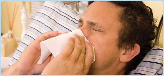 Viêm mũi họng do dị ứng thời tiết