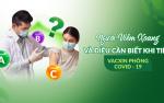 Người viêm xoang và những điều cần biết khi tiêm vacxin phòng ngừa Covid – 19.